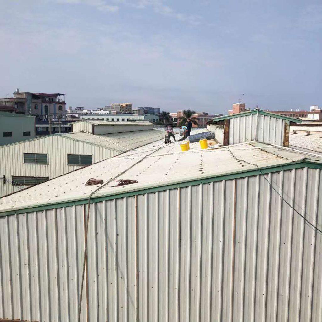钢结构屋面防水隔热施工防晒工程