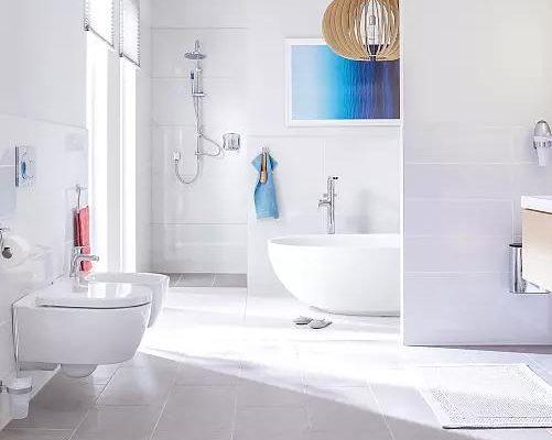 星级酒店洗手间防水效果图