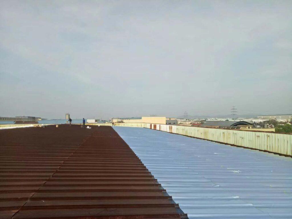 东莞铁皮房屋面防水隔热施工