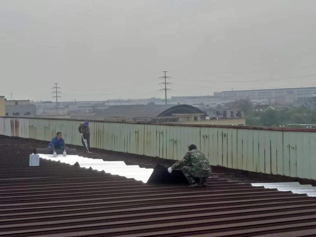 深圳铁皮房屋面防水隔热工程