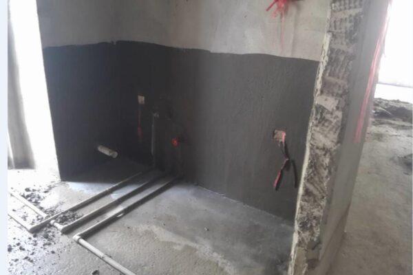 黑豹防水涂料厨房防水样板