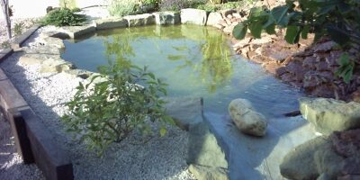 液体卷材之景观水池防水