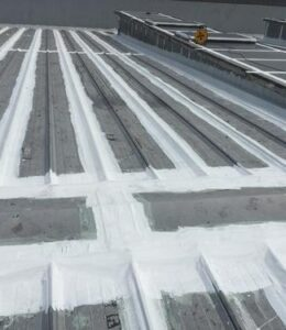 金属屋面节点防水处理